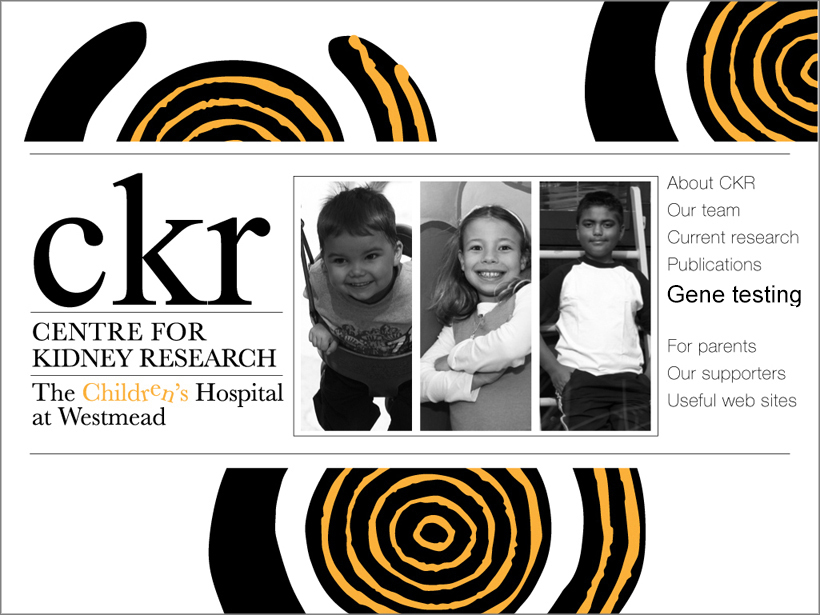 Centre for Kidney research Home Page